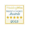 WeddingWire Brides Choice Awards Winner 2013